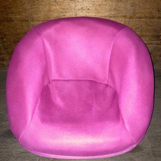 1016-17 座椅子ソファー 1人掛け ピンク かわいい