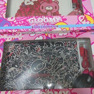 【値下げ】TAITOプライズ グルーミー マウス&マウスパッド 2点