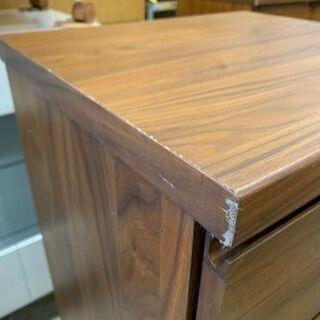 ミニチェスト 幅45cm 木製 ブラウン系 衣類収納 タンスコンパクトサイズ 南12条店 - 家具