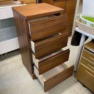 ミニチェスト 幅45cm 木製 ブラウン系 衣類収納 タンスコンパクトサイズ 南12条店 - 札幌市