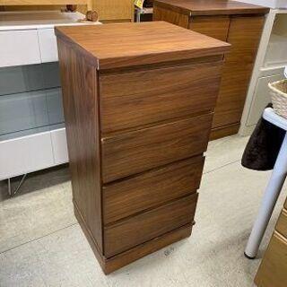 ミニチェスト 幅45cm 木製 ブラウン系 衣類収納 タンスコンパクトサイズ 南12条店の画像