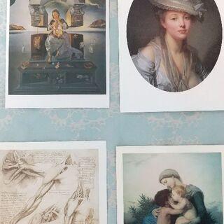 アートポストカード 7枚  300円