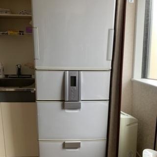 急募 SHARPノンフロン冷凍冷蔵庫 375L SJ-HL…
