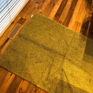 カーペット グリーン 140×200cm
