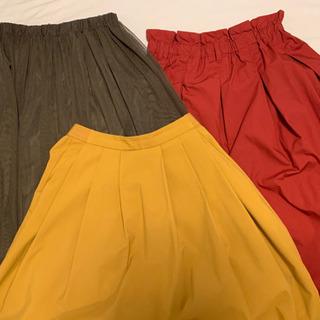 #スカート#3点セット#超美品#フリーサイズ#破格