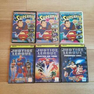 スーパーマン ジャスティンリーグ DVD 6枚