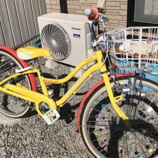 子供用自転車 美品!ブリヂストン  ワイルドベリー 22イ…