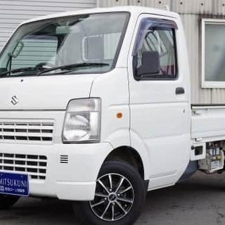かっこいいホイール付きの軽トラック('ω')キャリイトラック🔥