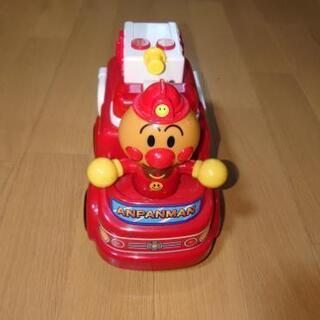 【美品】アンパンマンおしゃべり消防車