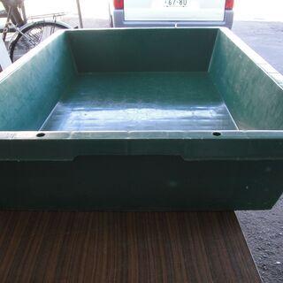 サンコー トロ舟 プラスチック製 コンクリート混ぜ - その他