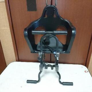 自転車 前用幼児座席 美品