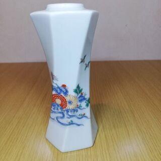 【ネット決済】再度値下げします!有田焼花瓶、秀峰作一輪挿し