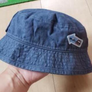 familiar(ファミリア)ゴム紐付き帽子 49cm