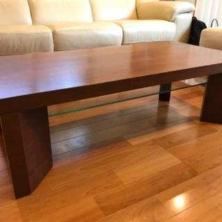 【最終値下げ!!】中古 木製の座卓/ローテーブル 譲ります