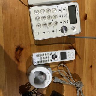 シャープ 電話 子機