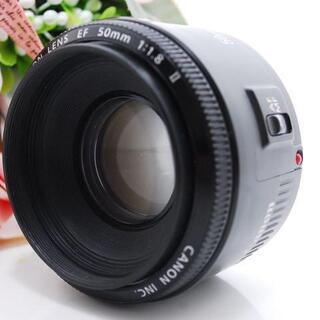 ★全国発送対応★超人気!Canon 50mm 単焦点レンズ