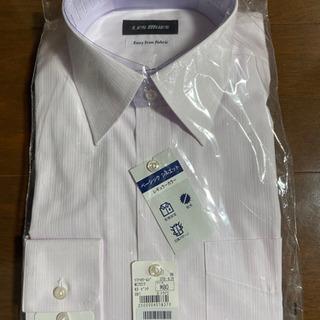 【定価3,990円】新品未使用薄紫ワイシャツ長袖M