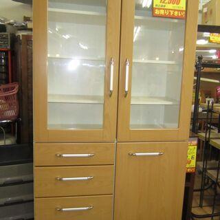 R228 NITORI 食器棚・キッチン棚 幅88cm 良品