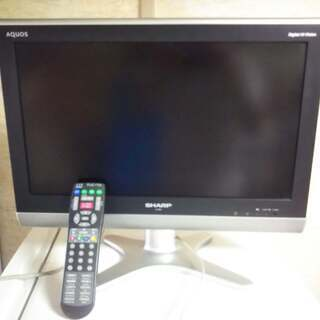 SHARP AQUOS 20型液晶テレビ   LC-20E5