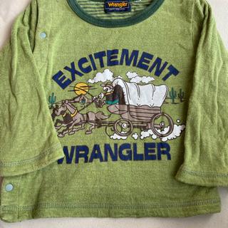 ラングラー長袖前開きTシャツ 80