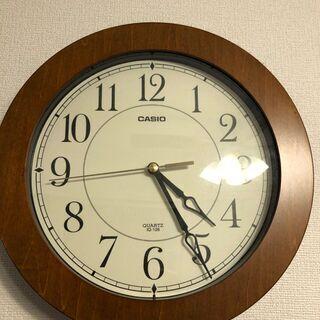 【最終値下げ!】壁掛け時計 秒針が連続してなめらかに動きます ブ...