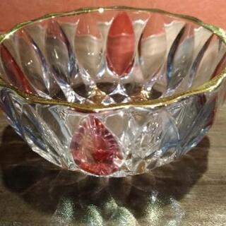 【古食器ガレージセール】ガラス深デザート鉢 5個