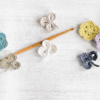 編み物・タティングレース教室 Natural knit ecru*