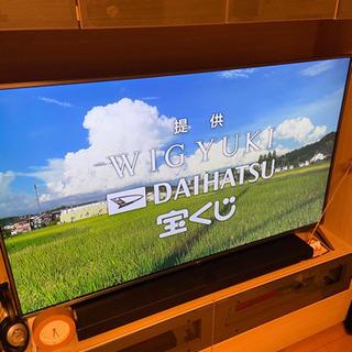 55インチ液晶テレビ(LG製)LG55UJ6100 無料で…
