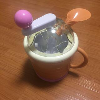 【値下げ】手動アイスクリームメーカー ドウシシャ【自宅で簡単】