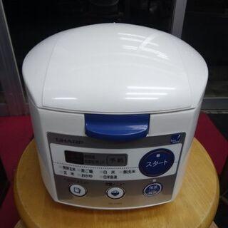 シャープ  炊飯器  KS-H5E4-KB  3合炊き 2…