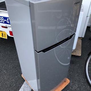 冷蔵庫 2017年 120L HR-B12AS【安心の3ヶ月保証...