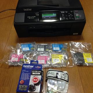 ☆年賀状印刷にも☆ブラザー インクジェットプリンタ