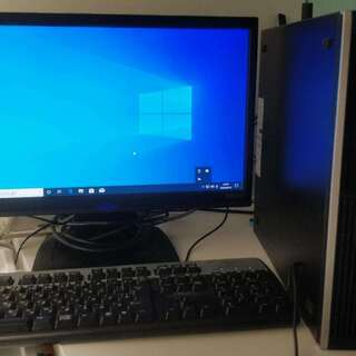 値下げました!デスクトップ 本体HP compad 6000 S...