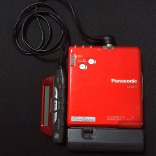 Panasonic MDプレーヤー 型番: SJ-MJ77