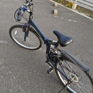 変速ギア付き折りたたみマウンテンバイク - 福岡市