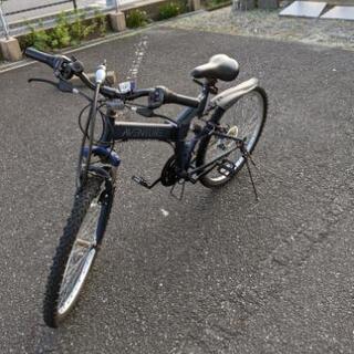 変速ギア付き折りたたみマウンテンバイク - 自転車