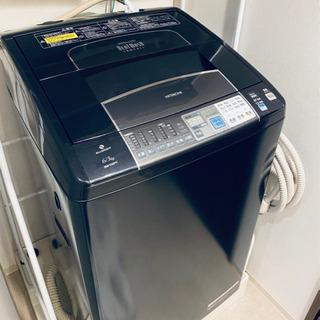 【ネット決済】【値段交渉あり】日立 タテ型洗濯乾燥機 HITAC...