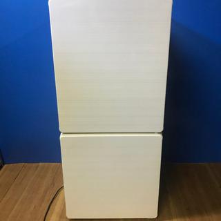 ユーイング 冷凍冷蔵庫 110L・右開き 2ドア ノンフロ…
