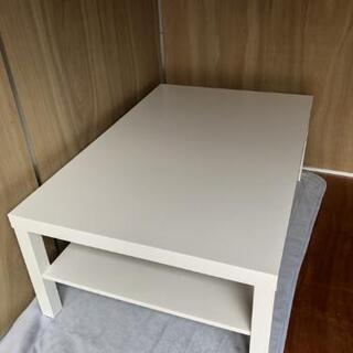 IKEA コーヒーテーブル, ホワイト 美品✨ - 売ります・あげます