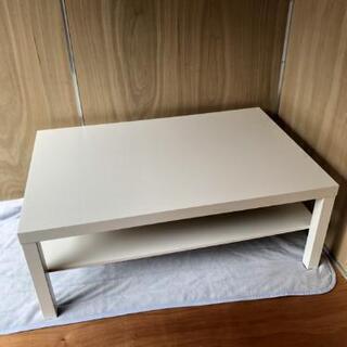 IKEA コーヒーテーブル, ホワイト 美品✨ - 川口市