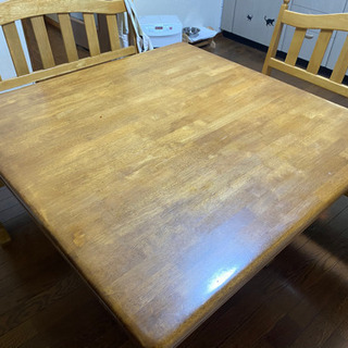 ベンチ式テーブル - 家具