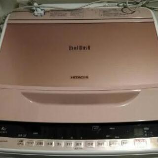 【中古品】日立の洗濯機ビートウォッシュ2015年式