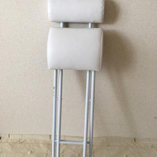 ニトリ 折り畳みパイプ椅子 - 家電