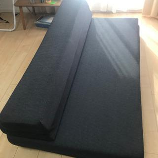 売約済 使い方色々 高反発ソファーマットレス ダブルサイズ - 家具