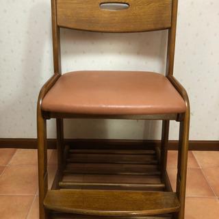 カリモク 学習椅子(ピンク)の画像
