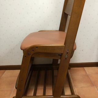 カリモク 学習椅子(ピンク) - 上尾市