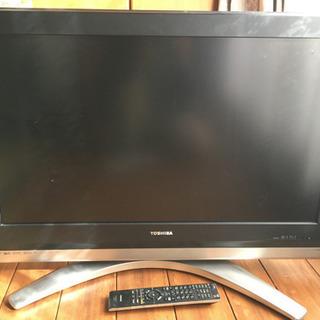 ジャンク品TOSHIBA液晶テレビの画像