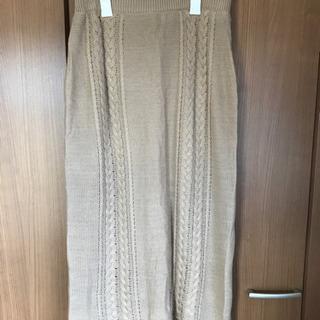 【未使用】SamansaMos2 ロングスカート Fsize