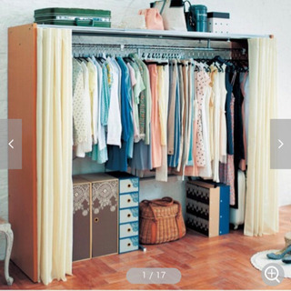 【無料でお譲り】衣装収納棚 - 売ります・あげます