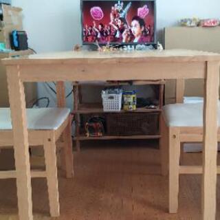 テーブルセット2人用